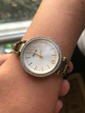 Fossil Women's Watch - Silver and Gold Tones - Bracelet Band