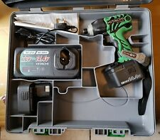 "Hikoki Hitachi 14.4V Impact drill screw Driver Battery kit cordless 1/4"" 14v"