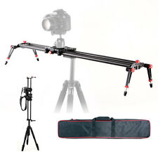100cm DSLR Camera Dolly Track Slider Video Stabilizer Carbon Fiber Rail System