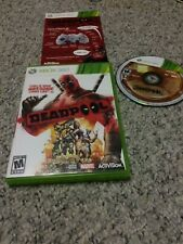 Deadpool Dead Pool Activision Microsoft Xbox 360 Good condition COMPLETE!