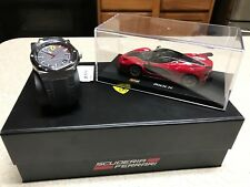 Men's Aspire SCUDERIA FERRARI 42MM WATCH & DIE CAST Car Special Edition GIFT SET