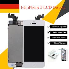 Ersatz LCD iPhone 5 Display VORMONTIERT KOMPLETT RETINA Touchscreen WEISS White