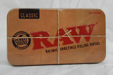 Raw Brand Tobacco / Storage / Trinket Tin - BNWT