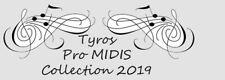 Yamaha TYROS 4 Professional Midis 2019