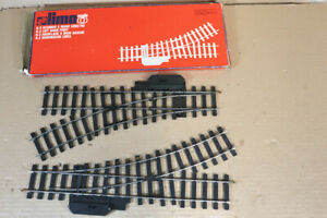 LIMA 6832 O GAUGE 2 x 348mm LONG LEFT SWITCH POINT TRACK BOXED nz
