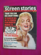 Screen Stories magazine - January 1971, Marilyn Monroe cover/feature