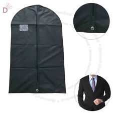 "Breathable Black Suit Cover Garment Clothes Travel Protector Zip Bag 40"" UKDC"