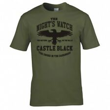 """GAME OF THRONES """"THE NIGHTS WATCH"""" T SHIRT"""
