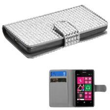 Silver Matte Mobile Phone Wallet Cases