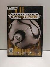 Championship Manager 2006 PC CD-ROM (2006 Windows) Video Game