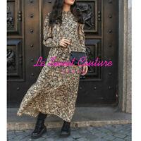 ZARA WOMAN NWT SALE! SNAKESKIN PRINT DRESS SIZE M REF: 7521/102