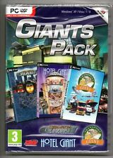 Giants Game Pack Inclds Hotel & Traffic & Transport PC Games  STOCKING STUFFERS