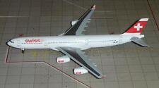 SWISS A-340-300 (HB-JMA), 1:400 Corporate Modell für Swiss, Dragon Wings