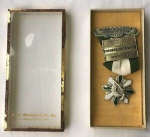 1964 HAWAII LAW ENFORCEMENT PISTOL MARKSMANSHIP SHOOTING MEDAL HPD badge