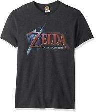 Nintendo Men's Hey Ocarina T-Shirt, Black, 4XL