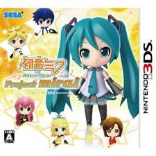 New 3DS Hatsune Miku and Future Stars: Project Mirai Japan Import
