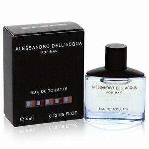 Alessandro Dell Acqua Mini Eau De Toilette Spray 4ml Mens Cologne