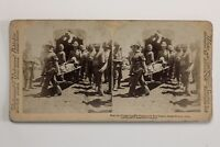 Guerre Dei Boeri (1899-1902) Africa Del Sud UK Foto n4 Stereo Vintage Albumina