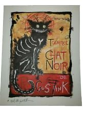 Gus Fink  signed blotter art print psychedelic art print outsider art