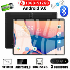 """10.1"""" Tablet Android 9.0 10 Core WiFi Bluetooth 10+512GB HD 2560* 1600 Game GPS"""