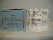 Avon Glow Of Christmas Floral Medley Fragranced Candle Christmas Deco