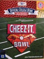 NCAA College Football Cheez-it Bowl 2020/21 Patch Miami & Oklahoma State