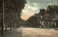 Great Barrington MA South Main St. c1910 Postcard