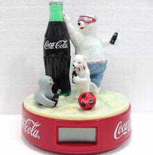 Coca-Cola - OROLOGIO CON SVEGLIA - anno 1999-BASE cm. 18-h cm. 22-gr. 873