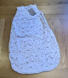 The Little White Company 🌺 Floral Sleeping Bag, 1.0 Tog, Age 0-6 Months - NWT