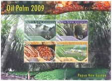 Papua New Guinea 2009 - Oil Palm Farming Sheet of 4 Stamps MNH