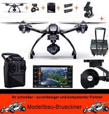 Yuneec Q500 4K TOP DELUXE BUNDLE RTF + C-GO3+ ST10+ 2x Akku + Alu-Trolly Drohne