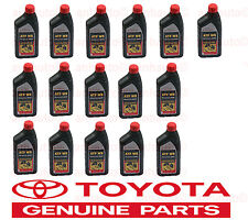 16 Pack GENUINE TOYOTA ATF WS Automatic Transmission oil Fluid ATFWS Lexus Scion