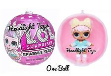 1 Authentic LOL Surprise SPARKLE SERIES Ball Big Sister Brother Dolls 2 3 4 5 6
