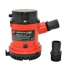 Johnson Pump 22084 Heavy Duty Bilge Pump 2200 GPH  24 VOLT