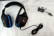Logitech G432 Wired Gaming Headset, 7.1 Surround Sound, DTS Headphone:X 2.0, 50