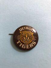 "1940's - 1950's DETROIT TIGERS 1""  PIN  VINTAGE"