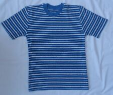 M&S Textured Striped Top. Age 9-10 years