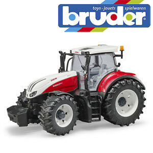 Bruder Steyr 6300 Terrus CVT Tractor Kids Farm Toy Farming Model Scale 1:16