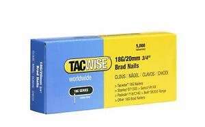 Tacwise 18 Gauge 15mm to 50mm Brad Nails Galvanised 4 Nail Guns 18G