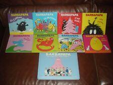 LOT 8 TOMES LA PETITE BIBLIOTHEQUE DE BARBAPAPA + TRIPLE ALBUM BELLES HISTOIRES