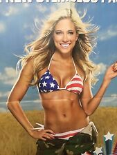 WWE Poster Kelly Kelly Diva USA Magazine Exclusive OOP Vintage Rare WWF WCW