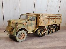 21st Century Toys WWII Opel Halftrack Sdkfz. 4 German Truck 1:32 Scale Diecast