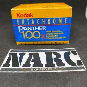 Kodak Ektachrome Panther 100X  36 exp  expired film