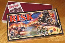 RISK Board Game - Mission Cards - Vintage 1993 Parker Brothers - Complete & Nice
