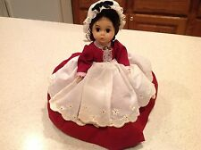 "Vintage Madame Alexanderkins Marme All Intact Tagged Clean 8"" Doll"
