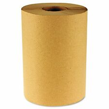 Boardwalk Natural Hardwound Roll Towels, 8in x 350ft / Roll, 6252, Brown