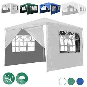 Pavillon 3x3-3x9m Partyzelt Stabilitat Gartenzelt Terrassenpavillon Festzelt