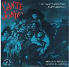 25 CM 10 INCHES SPAIN ANDALOUSIE CANTE JONDO LE CHANT DU MONDE