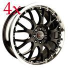 Drag Wheels DR-19 16x7 5x114.3 Black Mesh Rims For Altima Maxima Rav4 Corolla xb