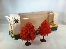 Bachmann Post War Vintage Train Landscape Trees, Grass, Shrubs and Original Box